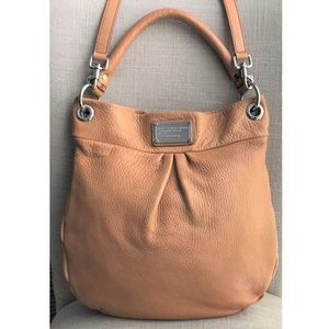 Marc by Marc Jacobs Hillier Leather Hobo Handbag